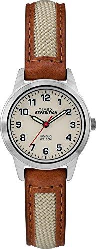 Timex Damen Datum klassisch Quarz Uhr mit Leder Armband TW4B11900