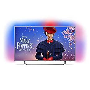 Philips LED Fernseher (Ambilight, 4K Ultra HD, Triple Tuner, Smart Fernseher)