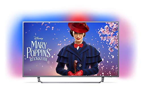 Philips Ambilight 55PUS7303/12 Fernseher 139 cm (55 Zoll) LED Smart TV (4K UHD, HDR Plus, Micro Dimming Pro, Android TV, Google Assistant) 55