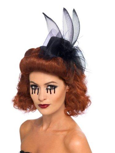Generique - Halloween Minihut Schwarze Witwe