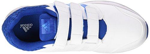 adidas LK Sport 2 CF K, Chaussures de Running Entrainement Unisexe-Bébé Multicolore - Blanco / Azul (Ftwbla / Azuimp / Eqtazu)