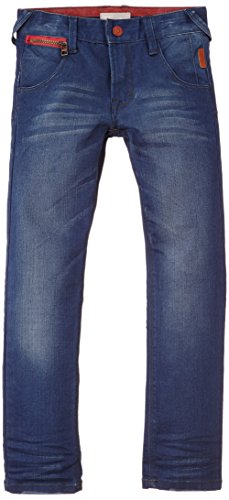 NAME IT Jungen Jeans Casil Red DNM Kids Slim/Slim Pant NOOS, Einfarbig, Gr. 104, Blau (Medium Blue Denim)