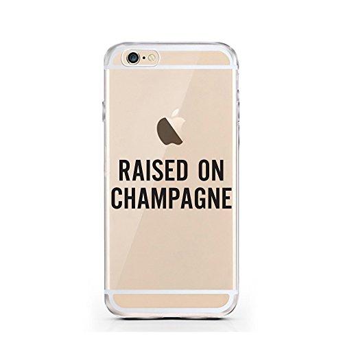 iPhone 7 Hülle von licaso® für das Apple iPhone 7 aus TPU Silikon SW Stern Star Krieg Wars Muster ultra-dünn schützt Dein iPhone 7 & ist stylisch Schutzhülle Bumper in einem (iPhone 7, SW) Raised on Champagne