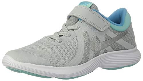 Nike Revolution 4 (PSV) Größe 28.5 EU Pure Platinum/Metall (Nike Schuhe Für Mädchen Größe 11)