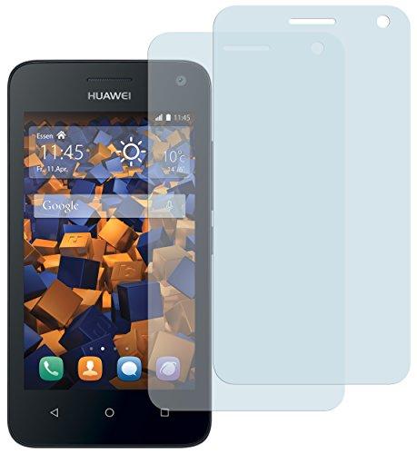 mumbi Schutzfolie kompatibel mit Huawei Y3 Folie klar, Bildschirmschutzfolie (2X)