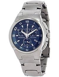 FESTINA F6698/4 - Reloj de caballero de cuarzo, correa de acero inoxidable (con cronómetro)