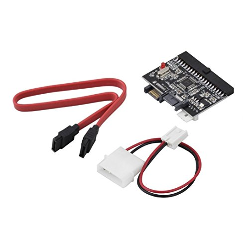 Swiftswan IDE zu SATA Bilateralen Adapter Konverter Power/SATA Kabel 100/133 HDD CD DVD