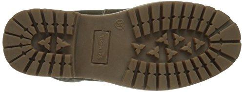 Dockers by Gerli 358400-071010 Unisex-Kinder Kurzschaft Stiefel Braun (chocolate  010)