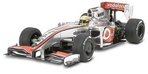 Tamiya 300051430 Karosserie-Satz F104 Vodafone McLaren Mercedes MP4-24 - Coche de carreras en miniatura (escala 1:10) importado de Alemania