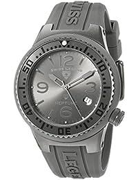 Swiss Legend Neptune Reloj de hombre cuarzo suizo 44mm correa y caja de silicona 11044P-GM-018B-WC