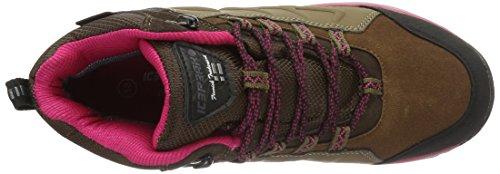 ICEPEAK - Wulstan, Scarpe da ginnastica Donna Marrone (Braun (190 Dark Brown))