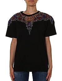 Marcelo Burlon Femme CWAA016S170473441088 Noir Coton T-Shirt