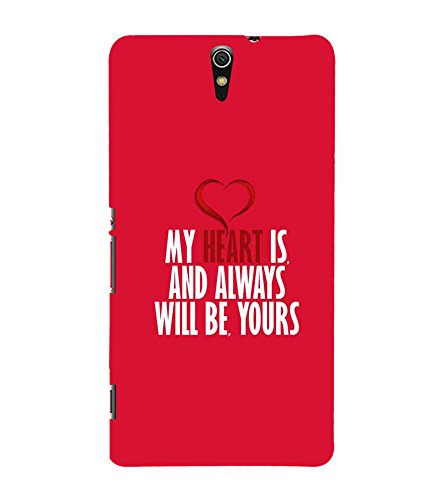 PrintVisa Designer Back Case Cover for Sony Xperia C5 Ultra Dual :: Sony Xperia C5 E5533 E5563 (Quote Love Heart Messages Crazy Express Sorry )