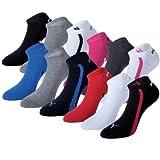 Puma Unisex Ring Sneakers 201203001 Sportsocken 12er Pack