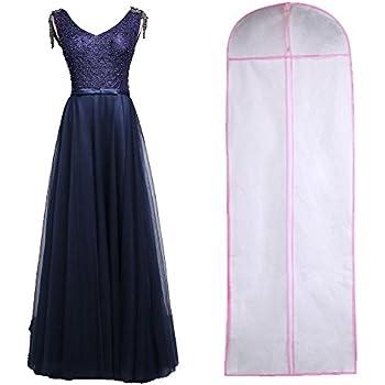 72efca0b651e Wedding Evening Dress Gown Garment Cover Bag Protector: Amazon.co.uk ...