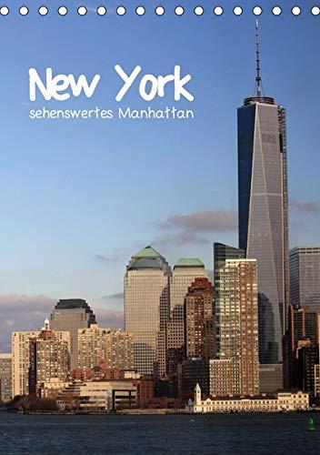 New York - sehenswertes Manhattan bei Tag und Nacht (Tischkalender 2020 DIN A5 hoch): Kurztrip durch die atemberaubenden Straßen im Herzstück einer ... (Monatskalender, 14 Seiten ) (CALVENDO Orte)