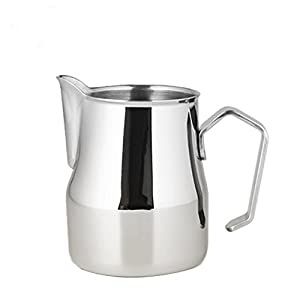 350ml Stainless Steel Milk Frothing Jug Pull Flower Art For Making Coffee Cappuccino