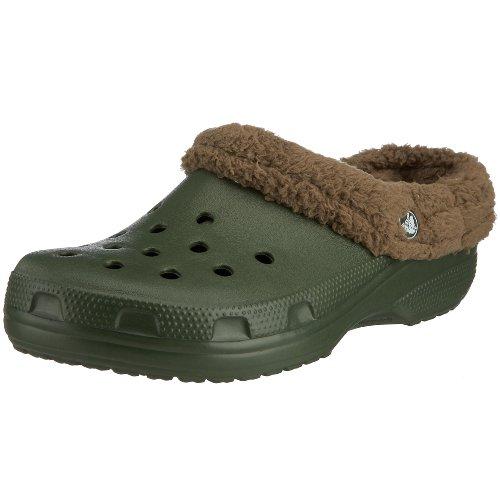 Crocs Mammoth, Zuecos Unisex, Forest, 36 EU