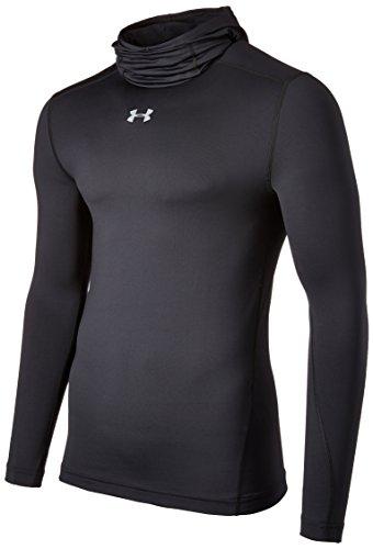 1280806 Under Armour-Maglietta con protezione termica da uomo, colore: nero taglia: M (taglia del produttore: MD)