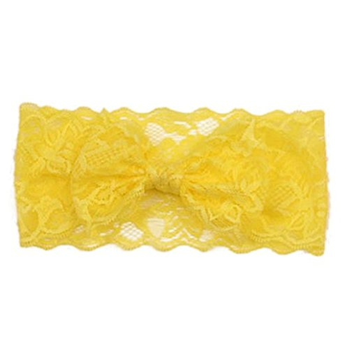 San Bodhi Baby Girls Cute Lace Hairband Headwear Bowknot Hair Accessories
