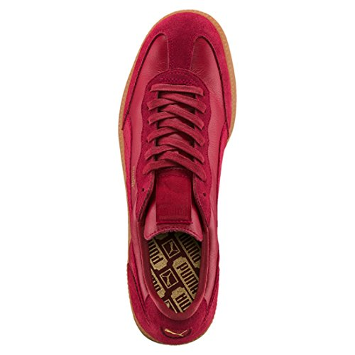 Puma Liga Leather, Scarpe da Ginnastica Basse Unisex-Adulto Rottöne