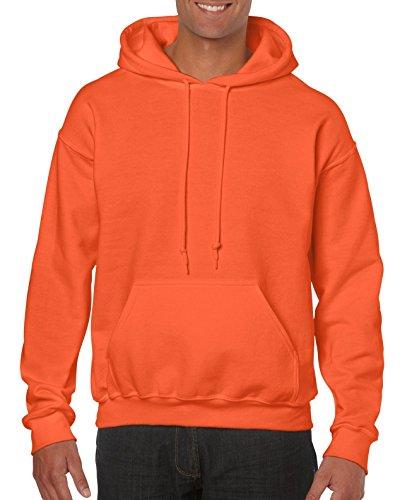 GILDAN - Felpa con cappuccio - Uomo arancione