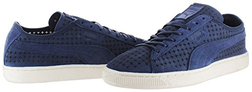 Sneakers Puma Suede Courtside Cour Chaussures perforées Peacoat