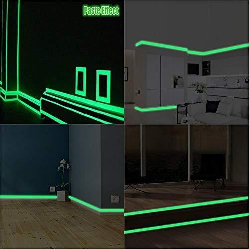 Leuchtende Wand Sticke Neue Möbel Dekoration Ausgang Durchgangswarn Fluoreszenz Streifen Aufkleber Dekoration Perfekte Wandtattoos -