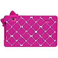 "Barbie Funda protectora de silicona para tablets de 7"" (Lexibook MFA51BB)"