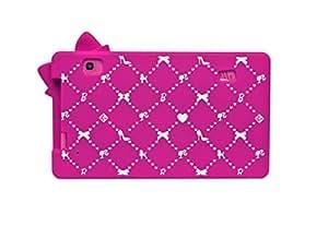 Pochette de protection 3D en silicone Lexibook Barbie Tablette 7``