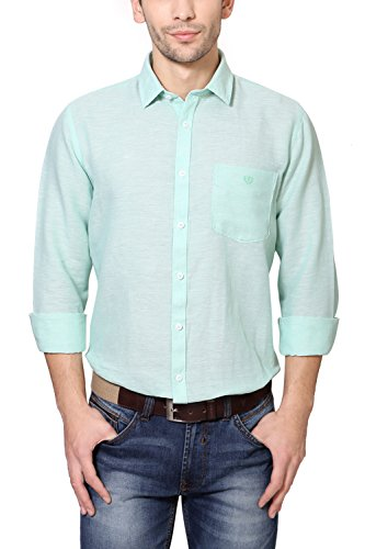 Van Heusen Green Shirt