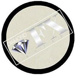 Diamond FX metálico recarga pintura de la cara - blanco (10 gm)