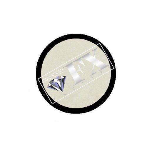 Unbekannt Diamond FX metallic Gesicht malen Refill - weiß (10 g)