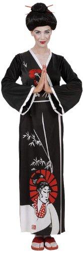 Widmann 58203 - Erwachsenenkostüm Geisha, Kimono, Gürtel und (Zubehör Geisha)