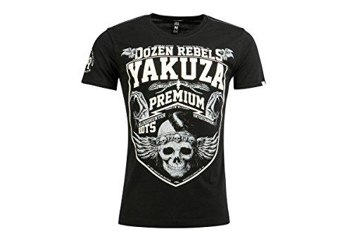 Yakuza Premium T-Shirt YPS2419 Schwarz