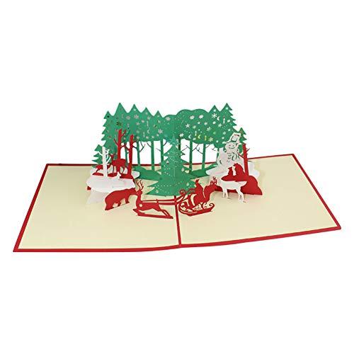 Holz-Steckmotiv Weihnachtsmann und