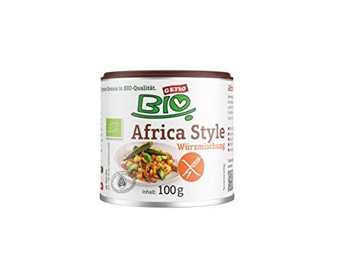 GEFRO Bio Würzmischung Africa Style 100g