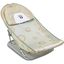 Monsieur Bébé ® Tumbona de baño reclinable con respaldo ajustable - Beige - Norma CE