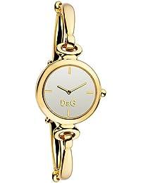 D&G Dolce&Gabbana Damen-Armbanduhr ESTELLE IPG SILVER DIAL BRC DW0395