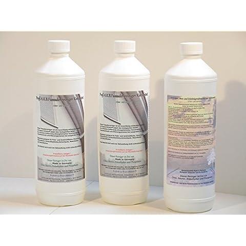 AKB facciata concentrato detergente gruppo bottiglie