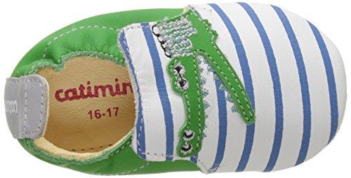 Multicolore Jungen souple Krabbelschuhe vte Raye Dpf Marine vert Catimini Pirouette Baby cCqFWnw5xI
