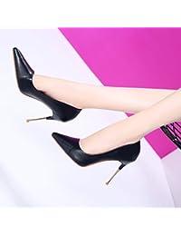 MDRW-Signora/Elegante/Lavoro/Tempo Libero/Primavera bSemplice Temperamento Scarpe In Pelle Scamosciata…