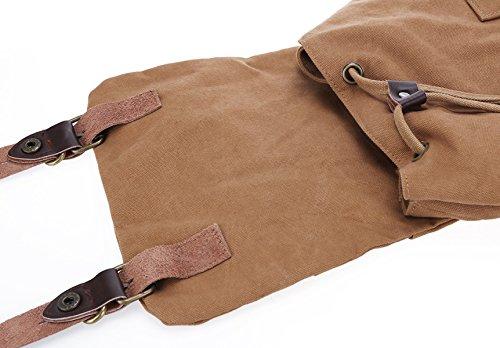 LAIDAYE Leinwand Schultertaschen Reisetaschen Bigbags Outdoor-Taschen Rucksäcke Schultaschen Schultaschen 3