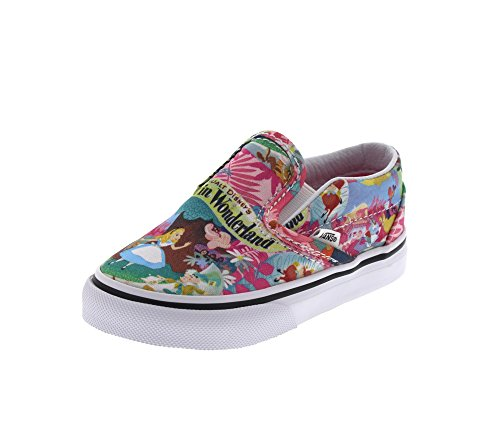 VANS Kids - Sneaker T CLASSIC SLIP ON - Disney Wonderland, Dimensione:21