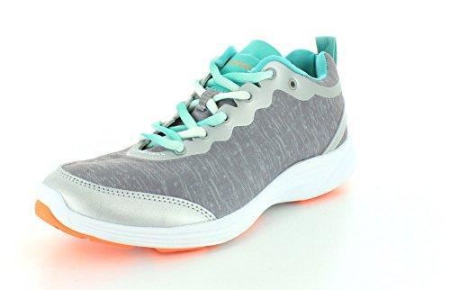 Vionic by Orthaheel Women's Fyn Grey Fabric Athletics 10 B(M) US Grey