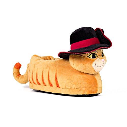 Sleeper'z - Shrek DreamWorks - Pantofole Gatto con gli Stivali - M