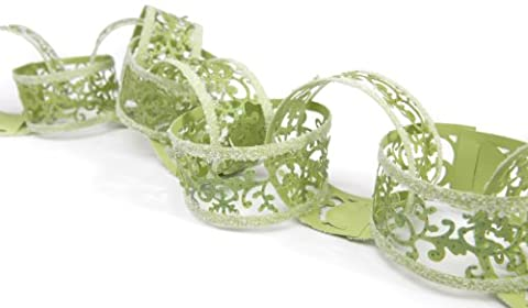 Sizzix Sizzlits Decorative Strip Die - Christmas Paper Chain with Holly Flourish by Rachael Bright