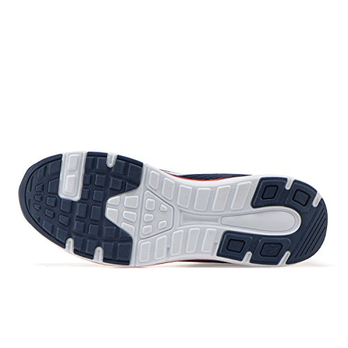 Diadora Swan +, Chaussures de Running Homme Bleu (Blu Classico Rosso Nastro)