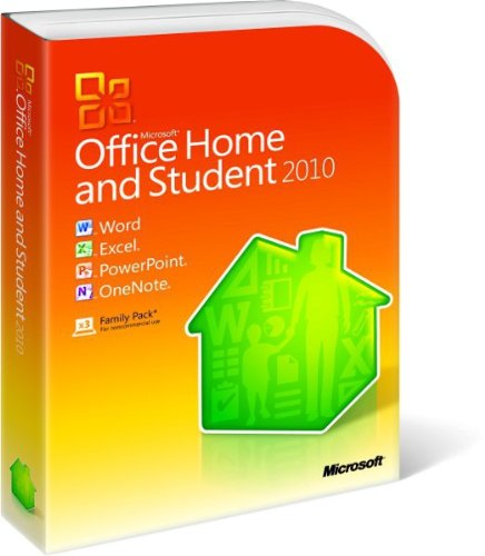 Microsoft Office Home and Student 2010 (Microsoft Office 2010 Student)