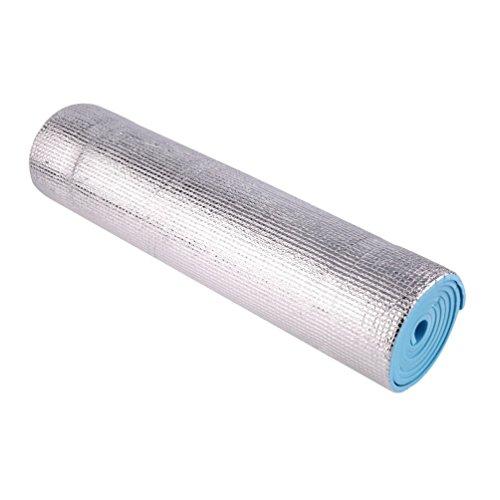 Oyamihin Wasserdichter einzelner Yogamatte-Rutschfeste 6mm Starke Körper-Gebäude-Gesundheit verlieren Gewicht-Übungs-Gymnastik-Kissen-Eignungs-Auflage (Gesundheit Gebäude)